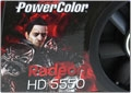 Видеокарта Power Color Radeon HD 5550 - битва за бюджет